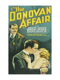 The Donovan Affair Posters