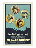 Oh, Mabel Behave! Posters