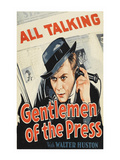 Gentlemen of the Press Poster