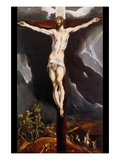 Christ on the Cross Prints by  El Greco