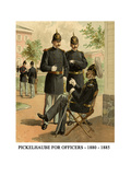 Pickelhaube for Officers - 1880 - 1885 - Posters by Henry Alexander Ogden