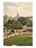 Garden of the Princess Prints by Claude Monet
