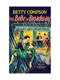 The Belle of Broadway Poster