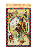 Life and Adventures of Buffalo Bill Premium Giclee Print