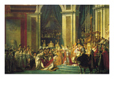 Coronation of Napoleon Bonaparte Posters by Jacques-Louis David