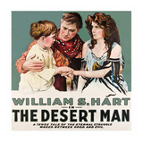 The Desert Man Posters