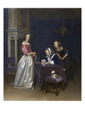 Curiosity Poster by Gerard ter Borch