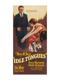 Idle Tongues Prints