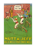 Mutt and Jeff - Oils Well That Ends Well Print