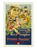Picking Peaches Print by Mack Sennett