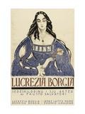 Retribution - Lucretia Borgia Print