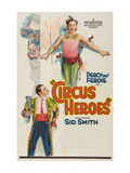 Circus Heroes Poster