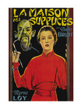 "Mask of Fu Manchu ""La Maison Des Supplices"" Posters"