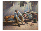 Morning Interior Premium Giclee Print by Maximillian Luce