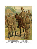Khaki in Cuba - 1898 - 1900 - Tropical Dress in the War with Spain Posters by Henry Alexander Ogden