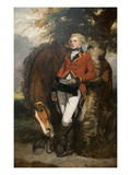 Captain George H. Coussmaker Affiches par Sir Joshua Reynolds