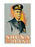 Sousa and His Band Prints