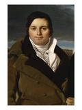 Joseph Antoine Moltedo Print by Jean-Auguste-Dominique Ingres