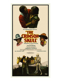 The Crimson Skull Affiches par  Norman Studios