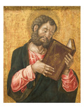 St. Mark Reading Art by Bartolomeo Vivarini
