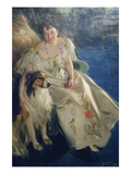 Mrs. Walter Rathbone Bacon (Virginia Purdy) Print by Anders Leonard Zorn