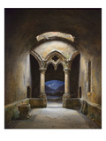 Gothic Chapel Prints by Charles-marie Bouton