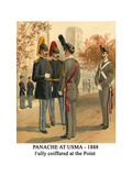 Panache at Usma - 1888 - Fully Coiffured at the Point Prints by Henry Alexander Ogden