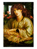 Lady of the Window; La Donna Della Finestra Prints by Dante Gabriel Rossetti