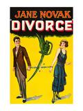 Divorce Premium Giclee Print