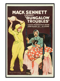 Bungalow Troubles Prints by Mack Sennett