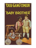 Our Gang Comedy - Baby Brother Print