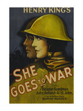 She Goes to War Prints