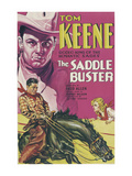 The Saddle Buster Art