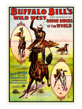 Buffalo Bills Wild West - Cossacks Premium Giclee Print by  Norman Studios