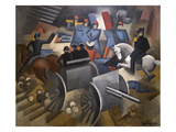 Artillery Posters by Roger de La Fresnaye