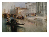 The Grand Canal in Venice Poster by J.M.W. Turner