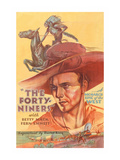 The Forty Niners Poster