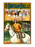 The Life of Buffalo Bill in 3 Reels Posters by Pawnee Film Co