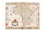 Afrika Poster von Nicolas Visscher