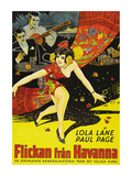 Girl from Havana Poster
