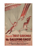 The Galloping Ghost Poster