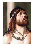 Christ at the Column Affiches par Antonello da Messina