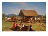 Cider Making Premium Giclee Print by William Sidney Mount