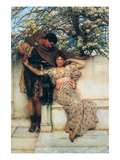 The Promise of Spring Posters by Sir Lawrence Alma-Tadema