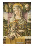 Madonna and Child Prints by Carlo Crivelli