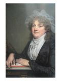 Madame Jean Baptiste Nicolet (Anne Antoinette Desmoulins, 1743–1817) Posters by Jean-Baptiste Greuze