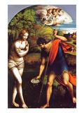 Baptism of Christ Prints by Girolamo Parmigianino