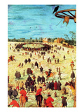 Procession to Cavalry - Detail Posters by Pieter Breughel the Elder