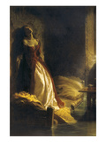 Tarakanova in the Flood Prints by Konstantin Dmitrievich Flavitsky