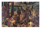 Crusaders Entering Constantinople Prints by Eugene Delacroix